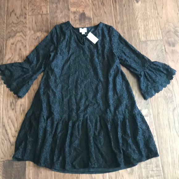NWT black lace dress